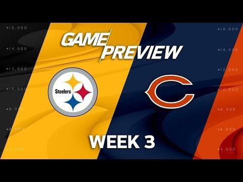 Pittsburgh Steelers vs. Chicago Bears | Week 3 Game Preview | NFL