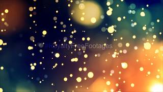 bokeh effect background | particles light leaks | abstract background video | Royalty Free Footages