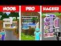 Minecraft NOOB vs PRO vs HACKER MODERN