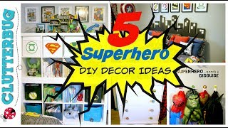 5 Easy Superhero DIY Room Decor Ideas And How Tos