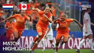 Netherlands v Canada - FIFA Women's World Cup France 2019™