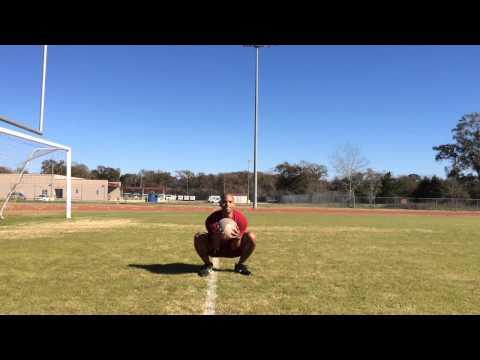 FMC 1 - Medicine Ball Jump Squats