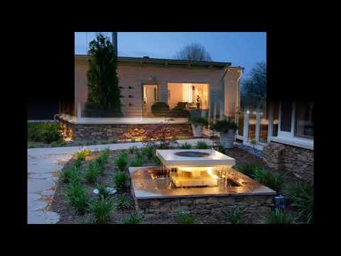 Gartenbeleuchtung ideen für schönes haus