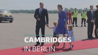 Duke and Duchess of Cambridge visit Berlin