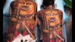 Cô gái xăm hình Phật Tổ Như Lai kín lưng: Đẹp nhưng coi chừng rước họa vào thân
