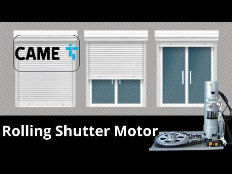 Automatic Rolling Shutter Motor 800 kg