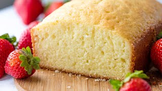 How to Make Traditional Pound Cake | The Stay At Home Chef