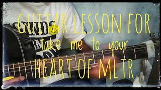 Take me to your heart-MLTR (Full guitar tutorial   - YouTube