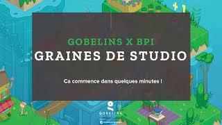 """Graines de studio"" - GOBELINS à PRESS START"