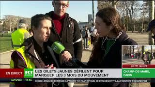 Gilets jaunes : «Trois mois pour un mouvement social en plein hiver, c'est du jamais vu !»