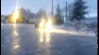 preview picture of video 'Ford escort MK 1.8td 66KW snow drift 2014 grudzień'