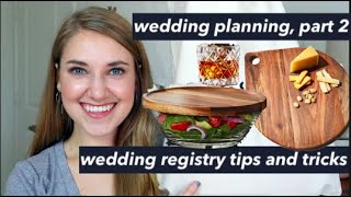 WEDDING REGISTRY TIPS AND TRICKS | VLOG STYLE Wedding Planning Part 2 | This or That