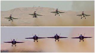 2020 Blue Angels & Thunderbirds! NAF El Centro