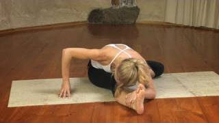 Seated Hip Opener Yoga Sequence