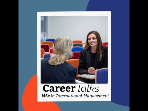"Career in Management - ""Alumni Talk"""