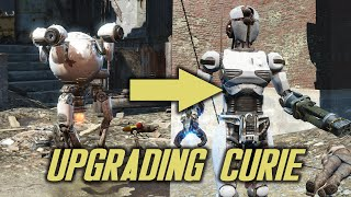 Fallout 4 - Automatron - Upgrading Curie into Assaultron
