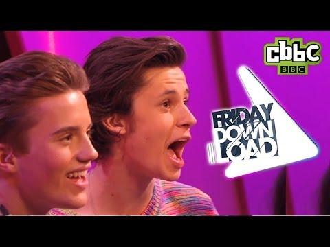 Frozen Love is an Open Door funny lip-sync | CBBC Friday Download
