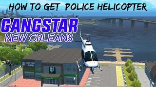 GANGSTAR NEW ORLEANS - How to Find CHOPPER/POLICE HELICOPTER LOCATION