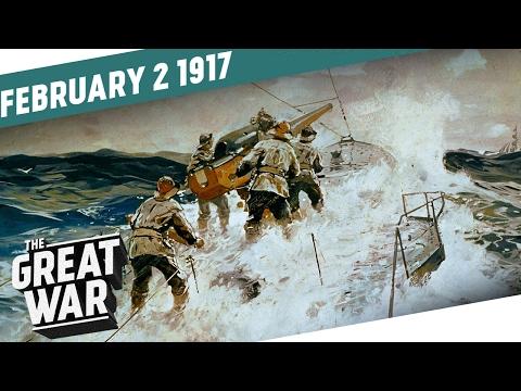 Německo obnovuje neomezenou ponorkovou válku - Velká válka