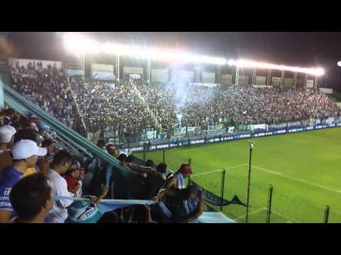 """""""Recibimiento  de  temperley vs boca copando banfield"""" Barra: Los Inmortales • Club: Temperley"""