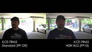 [4K] HLG High Dynamic Range vs SDR extreme backlight test