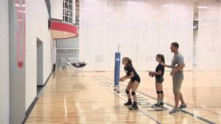 Wall Passing – Volleyball Drill