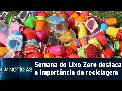 Campanha conscientiza sobre a importância da reciclagem