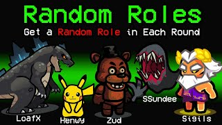 NEW Among Us RANDOM ROLES?! (Town of Us Mod)