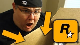 THE PACKAGE FROM ROCKSTAR GAMES!! (OMG)