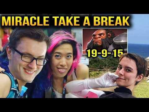 Miracle Take a Break to Play Pub with AliceXZ and Sheepsticked Dota 2 7.11