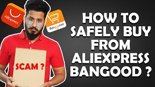 How to Order (Buy) From Aliexpress or Bangood ? [HINDI] Step By Step Guide India 2019