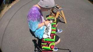 Blind Skateboard Set Up