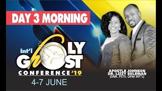 Holy Ghost Conference 2019 Day 3 Morning Live With Apostle Johnson Suleman