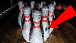 ABANDONED BOWLING ALLEY WITH CRYSTAL MAZE GAME SET