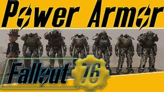 Fallout 76 where to find power armor !! (8 locations 9 possible sets of power armor)