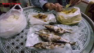 ตะลุยลาวเหนือ EP27:มาเด้อกินข้าวเเลงกับปิ้งปลา ต้มหน่อไม้ เเจ่วน้ำปู๋