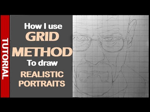 How to use Grids to draw realistic drawings | Tutorial