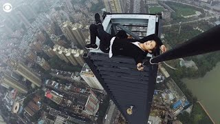 Daredevil climber dies during skyscraper stunt