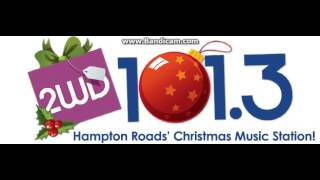 """25 Days Of Christmas Radio 2016 EXTRA: WWDE """"101.3 2WD"""" Station ID December 5, 2016 10:01pm"""