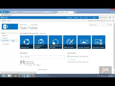 Lesson 01: SharePoint 2013 Basics - YouTube