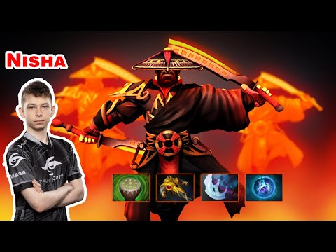 Nisha Ember Spirit Mid - DOTA 2 7.27D - Secret - Dota2 Gameplay [Learn To PRO]