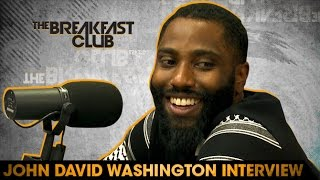 John David Washington Interview With The Breakfast Club (7-19-16)