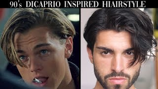 Mens Hair | Leonardo DiCaprio Inspired Hairstyle Tutorial