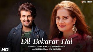 Dil Bekarar Hai   Vijayta Pandit, Sonu Nigam   - YouTube
