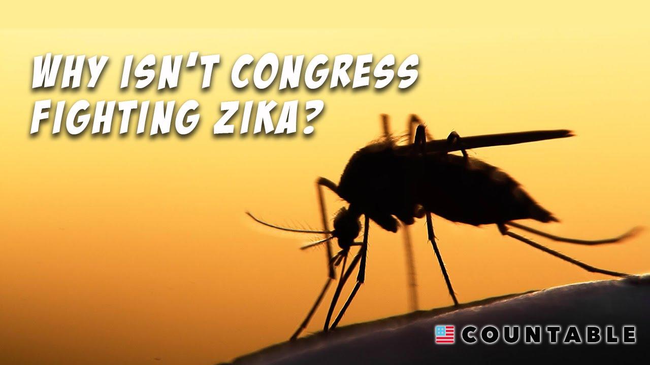 Why isn't Congress fighting Zika