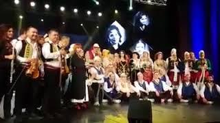 Duartrokitjet e natës së dytë e Koncertit Gala për 60 vjetorin e krijimit të Ansamblit Popullor