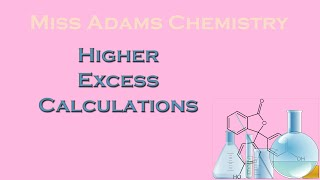 Higher: Excess Calculations