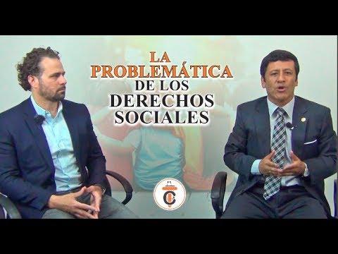 LA PROBLEMÁTICA DE LOS DERECHOS SOCIALES - Tribuna Constitucional 121- Guido Aguila Grados