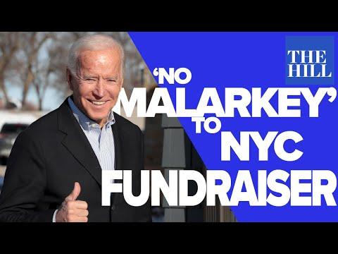 Panel: Joe Biden goes from 'No Malarkey' tour to NYC fundraiser