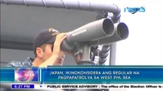 Japan considers patrolling West Philippine Sea